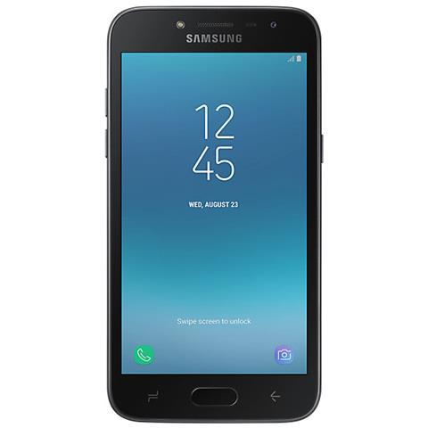 """SAMSUNG Galaxy J2 2018 Nero 16 GB Dual Sim Display 5"""" qHD Slot Micro SD Fotocamera 8 Mpx Android Italia"""