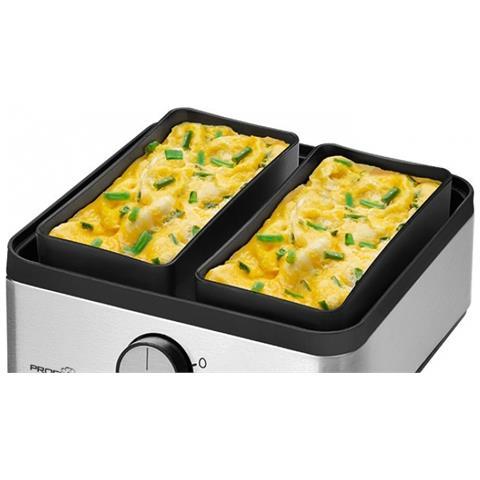 PC-EK 1084 8eggs 400W Acciaio inossidabile Pentolino per uova
