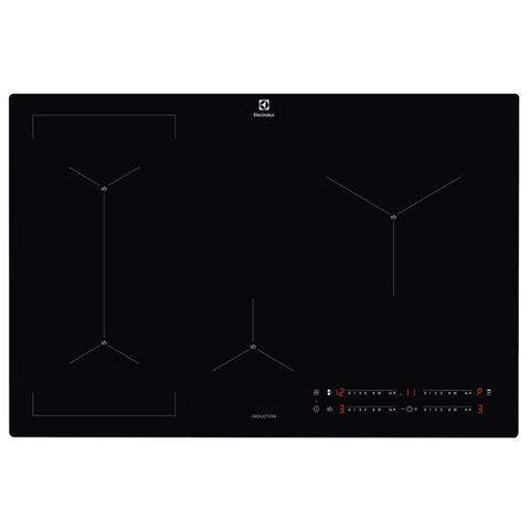 Piano Cottura EIS 82449 C a Induzione 4 Zone Cottura da 80 cm Colore Nero