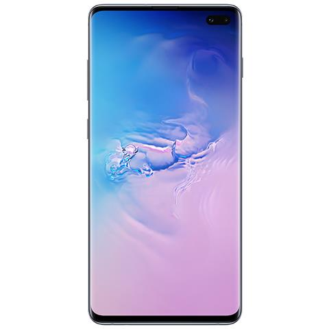 Image of Samsung Galaxy S10+ Blu 128 GB 4G / LTE Dual Sim Display 6.4'' Full HD+ Fotocamera 12 Mpx Android Tim Italia