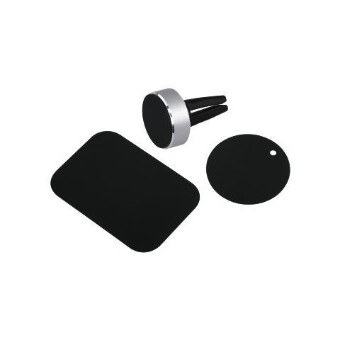 HAMA 00173765 Auto Passive holder Nero, Argento supporto per personal communication