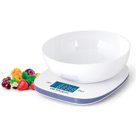 PC 1014 Da tavolo Rettangolo Bilancia da cucina elettronica Bianco bilancia da cucina