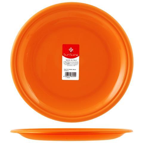 HOME Piatto Frutta 17 cm Arancione