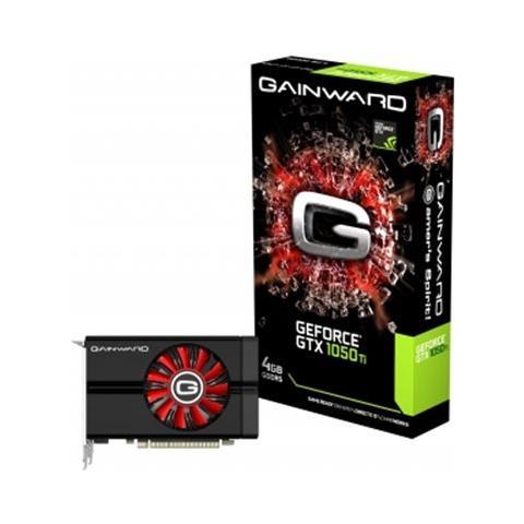 Image of GeForce GTX 1050 Ti 4 GB GDDR5 Pci-E x16 3.0 1 x DVI-D / 1 x DisplayPort / 1 x HDMI
