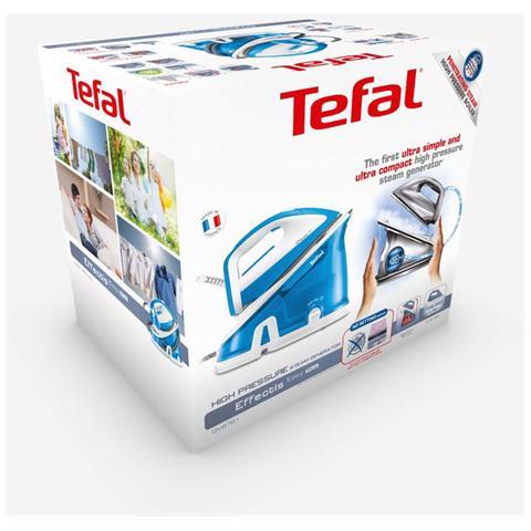 TEFAL GV6761 Ferro da Stiro con Caldaia Potenza 2200 Watt Colore Bianco / Azzurro