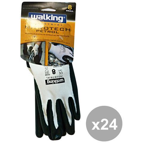 Walking Set 24 Nitrotech Petrol Taglia 8 Walking 010825 - Giardinaggio