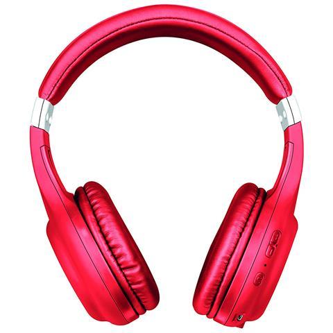 TRUST Cuffie con Microfono senza Filo 22766 Wireless Colore Rosso