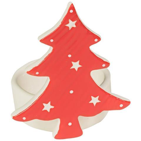 Porta Candela T Light Di Natale Sogg. assortiti - Porta Candela T Light Casa Di Natale