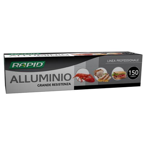 RAPID S.P.A. Carta Alluminio 150 Mt
