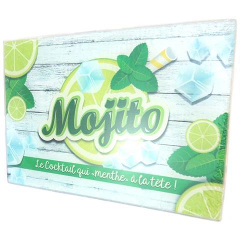 Tavola Da Taglio / Vetro Da Piatto 'mojito' Verde - 30x20 Cm - [ p2919]