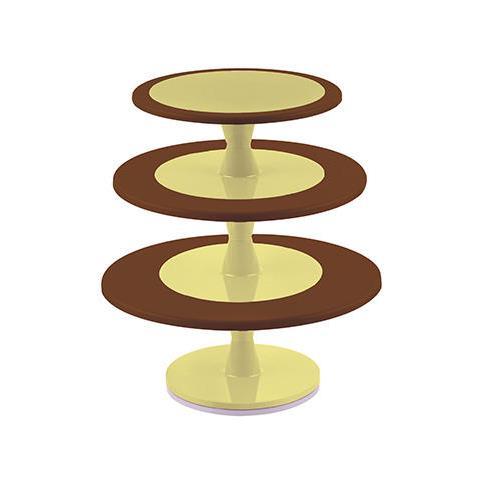 Hula Up Brown Xxl - Alzatina Multilivello À240 - À300 - À350 Mm