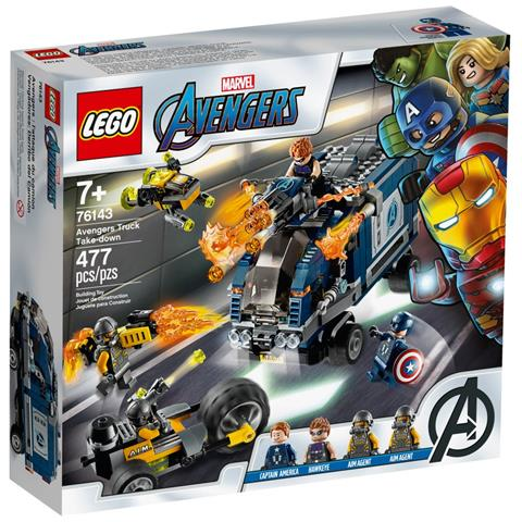 LEGO 76143 Marvel Avengers Attacco del camion