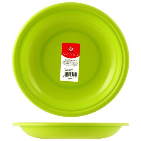 HOME Piatto Fondo 22 cm Verde