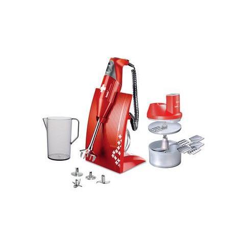 Frullatore ad Immersione Superbox BX SB RD 200 Watt Colore Rosso