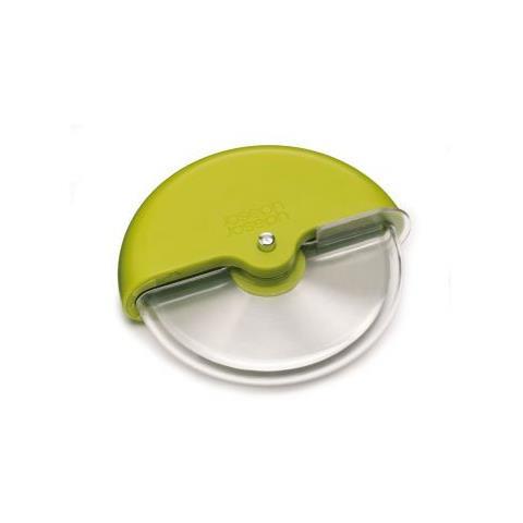 JosephJoseph Tagliapizza Scoot 11 cm con protezione lama colore verde