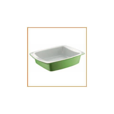 Rostiera Verde Chiaro Stoneware 28 X 21,5 Cm
