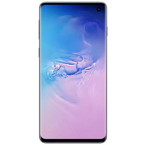 Image of Samsung Galaxy S10 Blu 128 GB 4G / LTE Dual Sim Display 6.1'' Full HD+ Slot Micro SD Fotocamera 12 Mpx Android Tim Italia