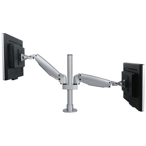 Viewmaster Braccio Porta Monitor - Scrivania 582 Colore Argento