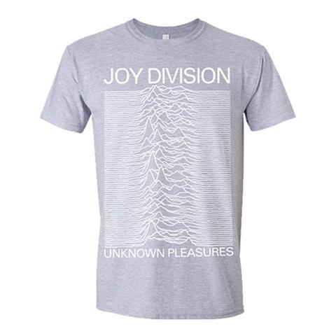 PHM Joy Division - Unknown Pleasures (Grey) (T-Shirt Unisex Tg. L)