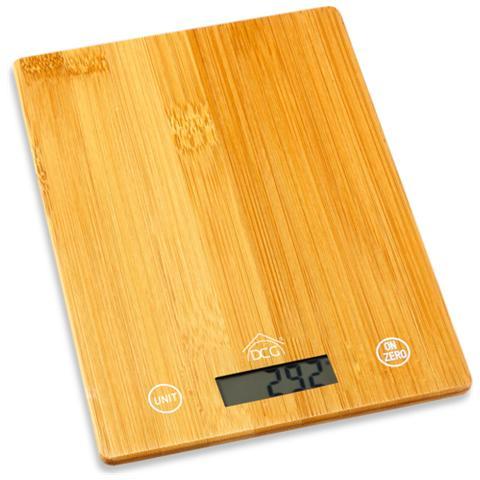 Eltronic PWC8062 Da tavolo Bilancia da cucina elettronica Legno bilancia da cucina