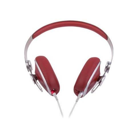 """MOSHI Avanti, Stereofonico, 3.5 mm (1/8"""") , Padiglione auricolare, Rosso, Cablato, Circumaurale"""