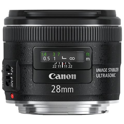CANON Obiettivo EF 28 mm F / 2.8 IS USM