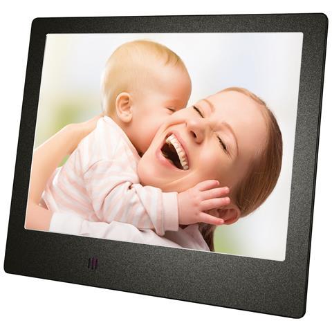 Cornice Digitale Slim M-PFS8B Display 8'' Risoluzione 1280 x 768 Colore Nero