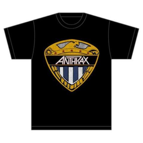 ROCK OFF Anthrax - Eagle Shield (T-Shirt Unisex Tg. XL)