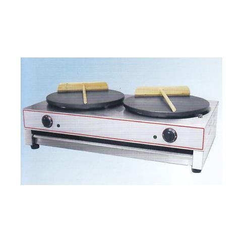 Crepiera Crepes Doppia 40+40 Elettrica Rs0683