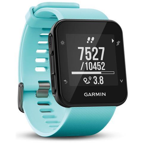 GARMIN Smartwatch Forerunner 35 GPS Impermeabile 5 ATM con Cardiofrequenzimetro Colore Nero / Celeste