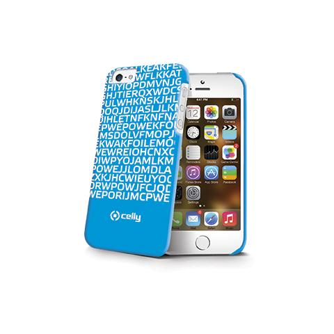 CELLY Cover Love Edition per iPhone 5S - Blu