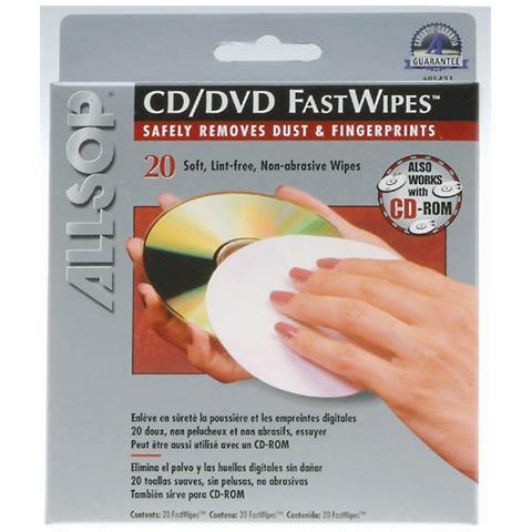 Allsop Panni in microfibra per la pulizia di CD e DVD