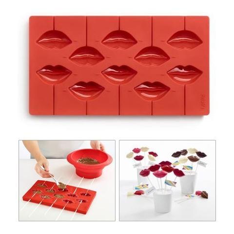 Lekué Stampo In Silicone Per Cioccolatini A Forma Di Baci Pop Kiss Lekuè