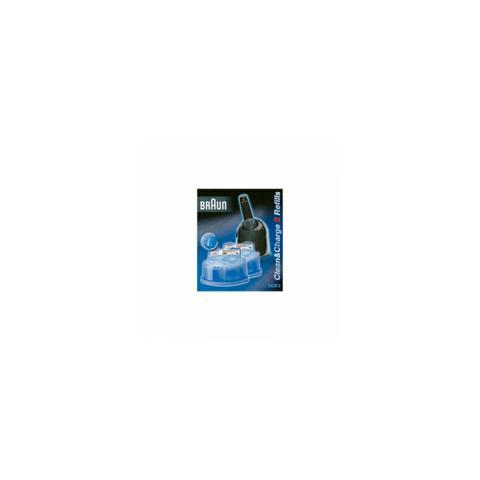 BRAUN CCR2-CART Cartucce Clean&Renew Confezione 2 Cartucce