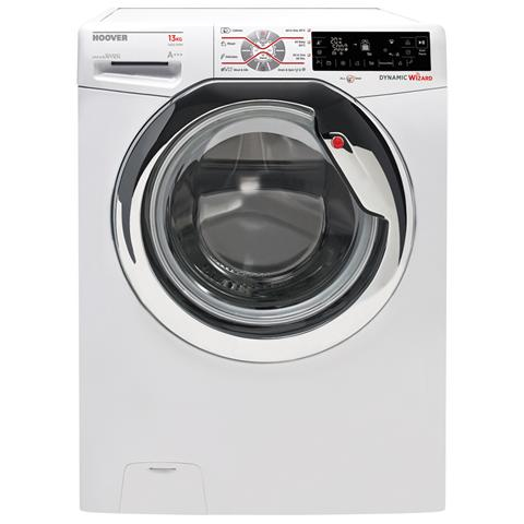 HOOVER Lavatrice Standard DWT413AH1S Dynamic Wizard All in One 13 Kg Classe A+++ -10% Centrifuga 1400 giri