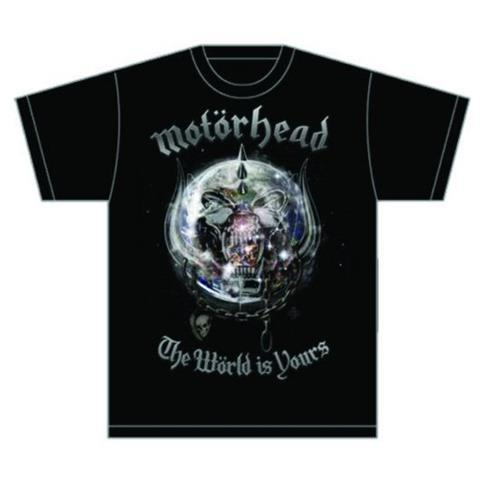ROCK OFF Motorhead - The World Is Your Album (T-Shirt Unisex Tg. L)