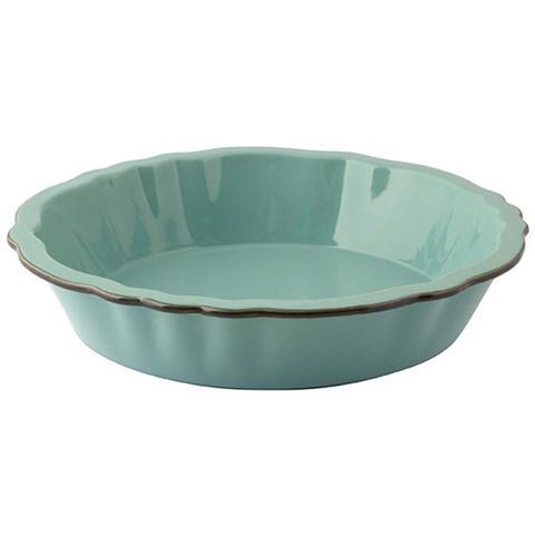 Pirofila Stoneware Smerigliata Tonda Turchese 24 Strumenti Da Cucina