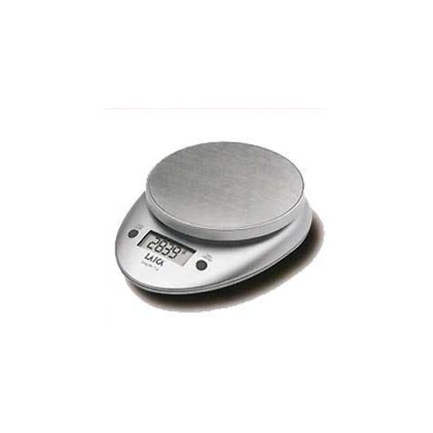 LAICA Bilancia Elettronica da Cucina Portata 3 Kg Colore Argento