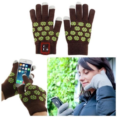 Network Shop Guanti Touch Screen Hi-call Bluetooth 3.0 Con Funzione Audio E Microfono