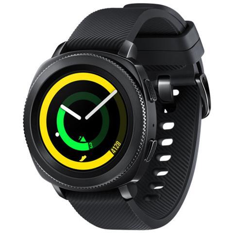 "SAMSUNG Sportwatch Gear Sport Impermeabile 5ATM Display 1.2"" 4GB Bluetooth WiFi e NFC Nero - Italia"
