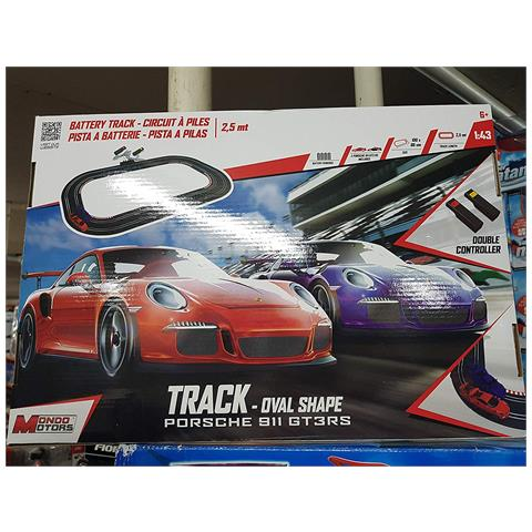 MONDO 66089 - Battery Track 2,4m Oval Porsche 2018