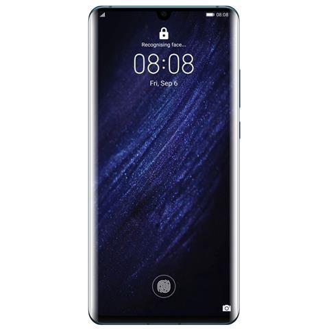 Image of Huawei P30 Pro Blu 128 GB 4G / LTE Dual Sim Display 6.47'' Full HD+ Slot Micro SD Fotocamera 40 Mpx Android