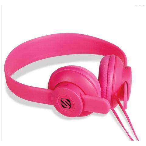 SCOSCHE Cuffie con Microfono On-Ear Colore Rosa