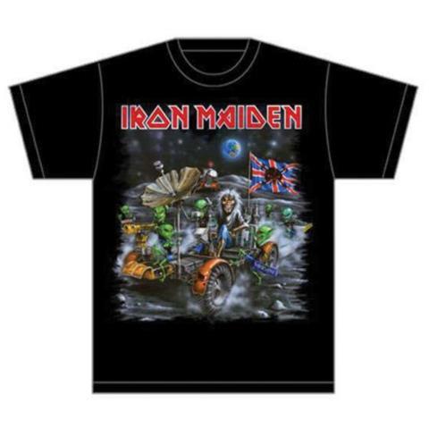 ROCK OFF Iron Maiden - Knebworth Moonbuggy (T-Shirt Unisex Tg. M)