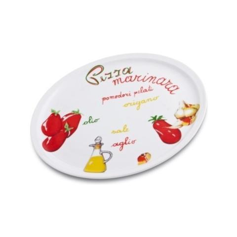 Fade Piatto Pizza 31 Cm Di Porcellana Mod. Marinara Art. 47891