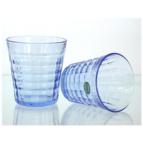 Set 12 X 4 Bicchieri In Vetro Prisme Marine Cl27.5