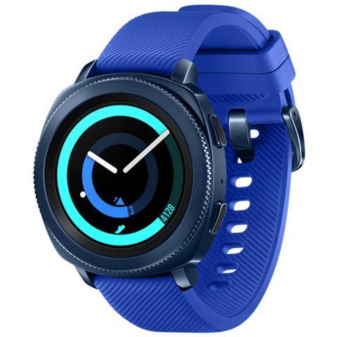 "SAMSUNG Smartwatch Gear Sport Impermeabile 5ATM Display 1.2"" 4GB Bluetooth Wi-Fi e NFC Blu - Italia"