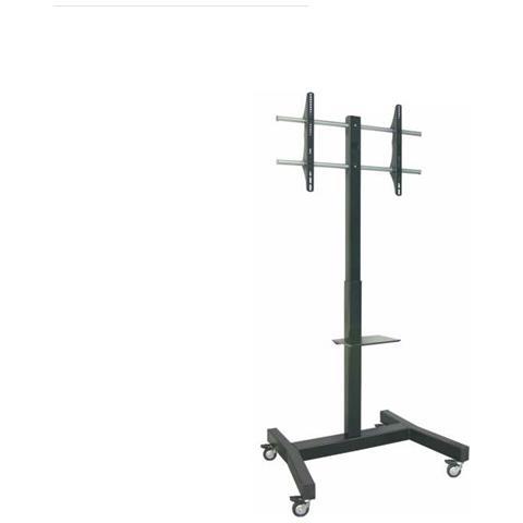 OM07075 90'' Portable flat panel floor stand Nero base da pavimento per tv a schermo piatt...