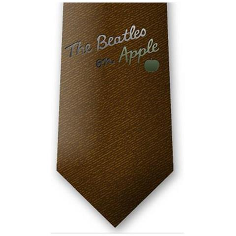 ROCK OFF Beatles (The) - On Apple Brown (Cravatta)
