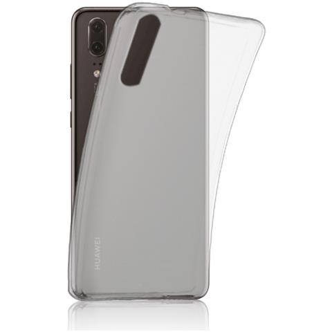 FONEX Cover Inv Soft Case Ultra Sottile 0,2 Mm In Morbido Tpu Per Huawei P20 Colore Trasparente